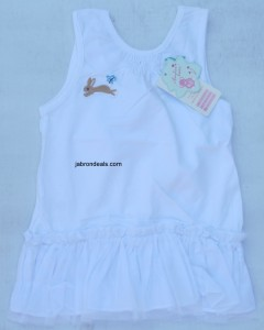 White Baby Frock
