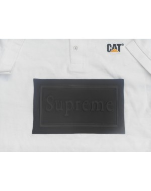 CAT White Polo