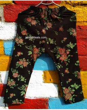 Girls Floral printed Legging