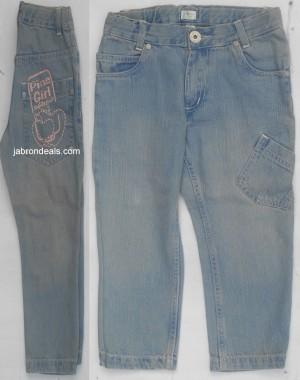 Girls Light Blue Jeans