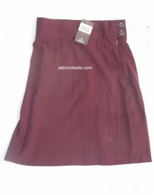 Chenone Original Girls Maroon Skirt