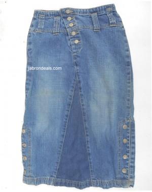 Chenone Girls Blue Skirt