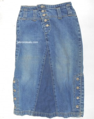 Chenone Girls Blue Skirt
