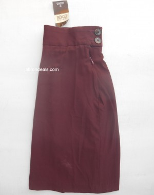 Chenone Original Girls Maroon Skirt