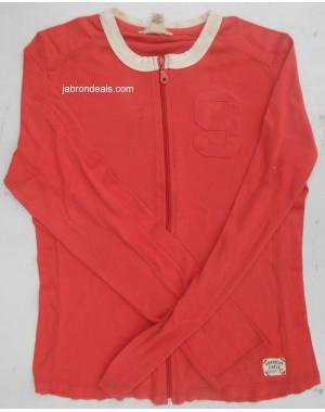 Girls Ziper Shirt