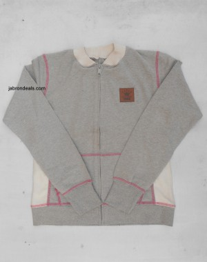 Baseball Gray Girls Jacket