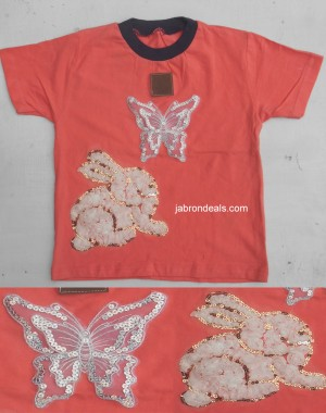 Girls T Shirt Pink