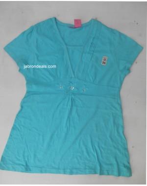 Girls firozi Stylish Shirt