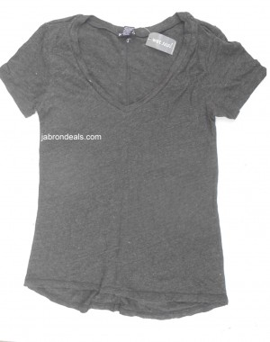 Girls Dark Gray T Shirt