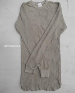 Ladies Gray Long Shirt