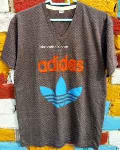ADIDAS Mens V Neck Tee shirt