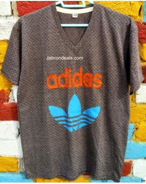 ADIDAS Mens V Neck Tee shirt