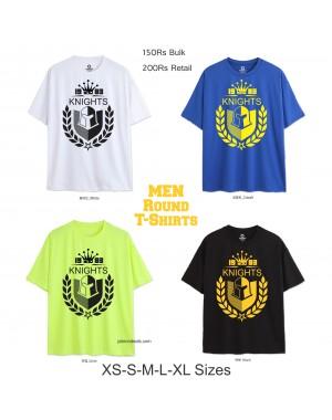 Knights Men Round T Shirts