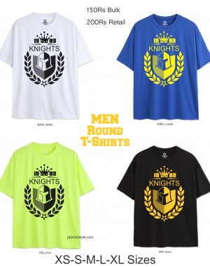 Knights Men Round T Shirts