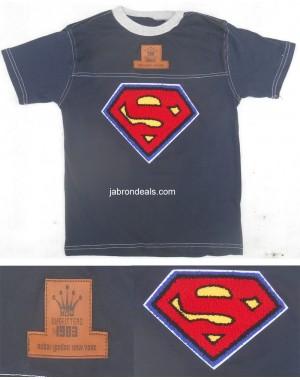Boys Super man Shirt