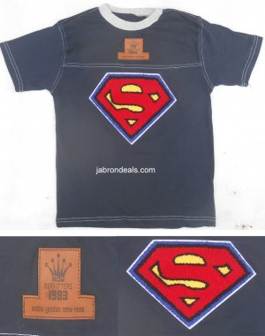 Boys Super man Shirt