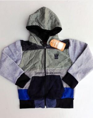 Kids Fur penta coloured hoodie