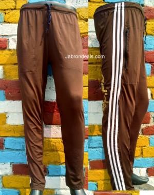 Mens Brown lycra trouser