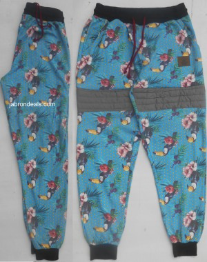 Enyce Parrot Allover Print Joggers