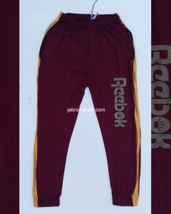 mens full steached reebok trouser