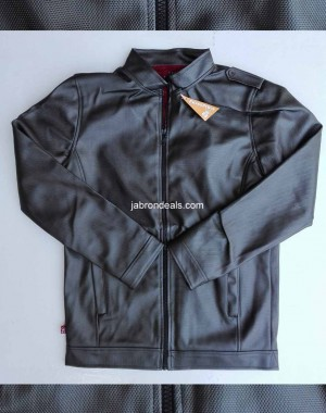 Mens beautiful pure leather jacket