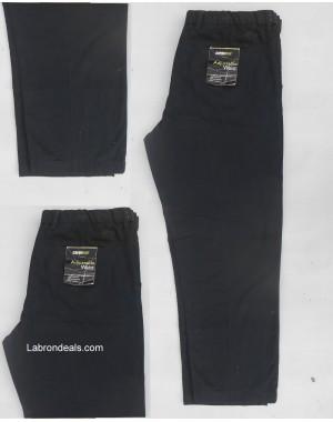 Black cotton jeans pent