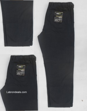 Black cotton jeans pent