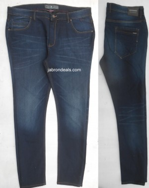 Dark Blue Stretch jeans Mish n Mash