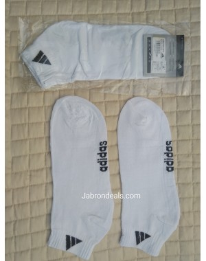 Adidas White Ankle Socks
