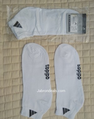 Adidas White Ankle Socks