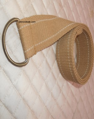 Girls belts brown
