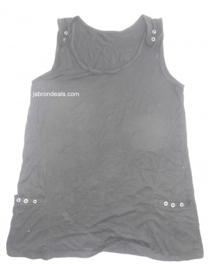 Ladies Sando Black