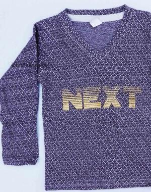 Next full sleeves V neck shirt