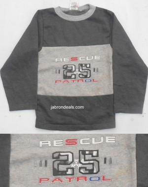 Fleece T Shirt Rescue 25 Patrol