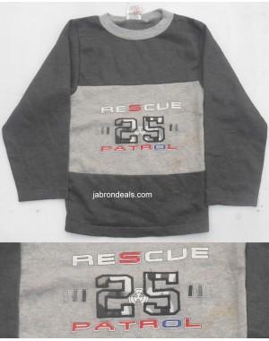 Fleece T Shirt Rescue 25 Patrol