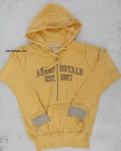 Aeropostale Pullover Henley Zipped Hoodies