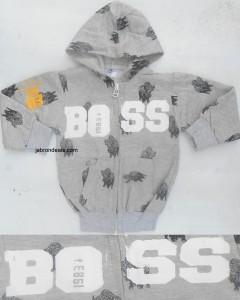 Kids Bull Printed Hood